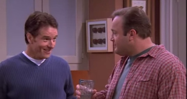 actor Bryan Cranston on The King of Queens May 2000
