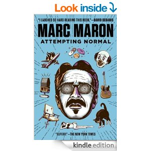 Marc Maron Attempting Normal book from Amazon