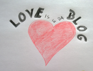 Love is in the blog